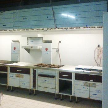 cuisine professionnelle en installation en Afrique - france kitchen