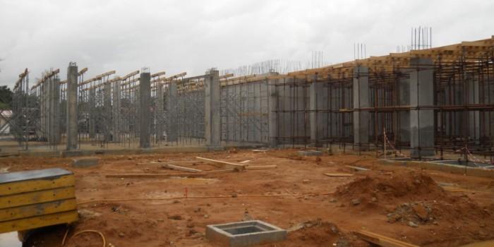 projet hotel Radisson Abidjan en construction